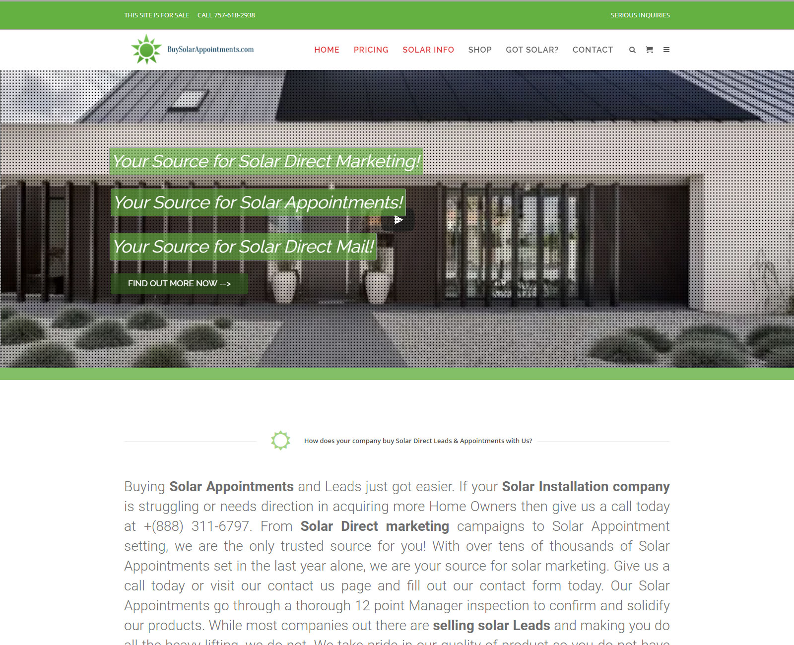 BuySolarAppointments.com